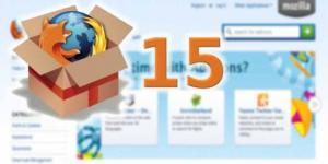 Download Mozilla Firefox 15