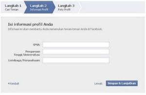 cara membuat facebook atau fesbuk